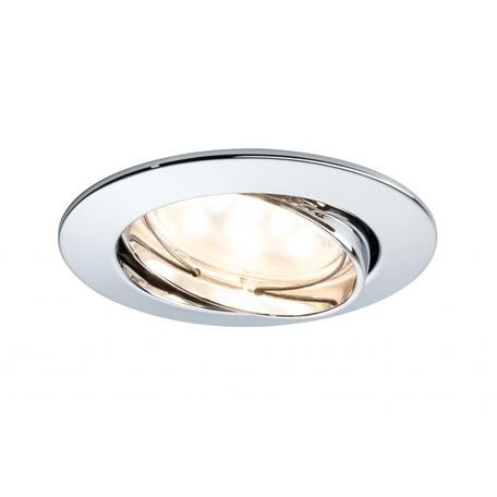 Встраиваемый светодиодный светильник Paulmann Premium Line LED 230V Coin 51mm 92770, IP23, LED 6,8W, металл