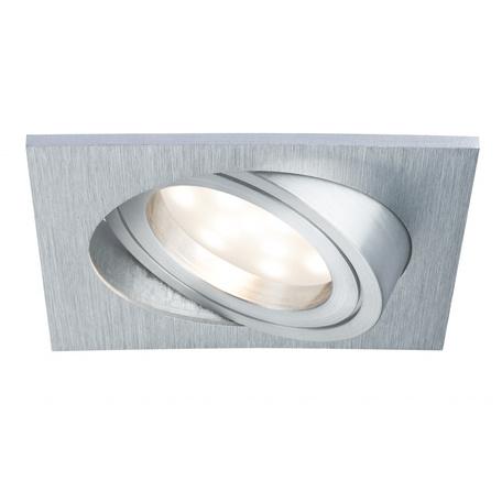 Встраиваемый светодиодный светильник Paulmann Coin 92799, IP23, LED 6,8W, алюминий, металл