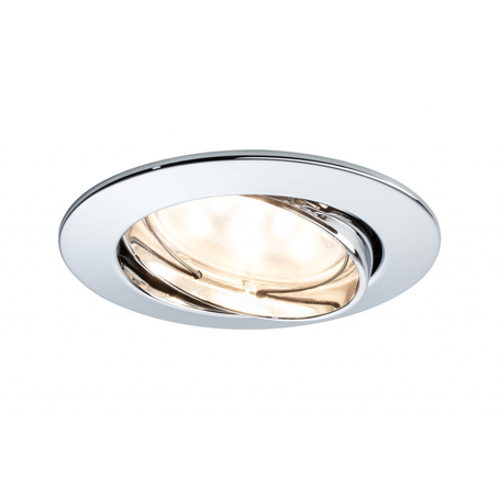 Встраиваемый светодиодный светильник Paulmann Premium Line LED 230V Coin 51mm 92821, IP23, LED 7,2W, металл