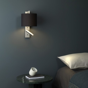 Основание бра с дополнительной подсветкой Astro Ravello LED 1222020 (7459), 1xE27x40W + LED 2W 2700K 111.1lm CRI80, бронза, металл - миниатюра 3