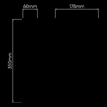 Схема с размерами Astro 1222020