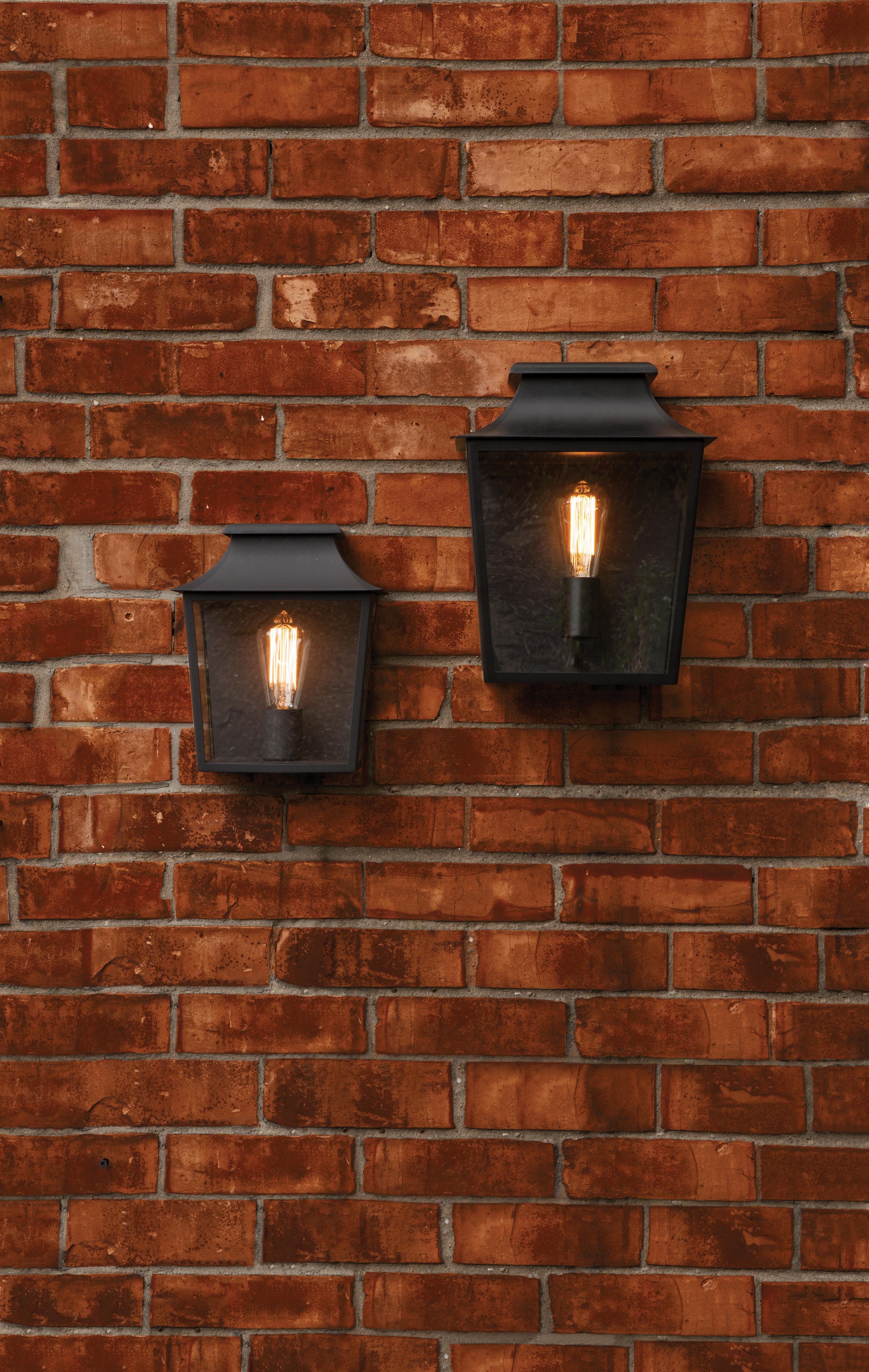 Настенный фонарь Astro Richmond 1340001 (7270), IP44, 1xE27x60W, черный, прозрачный, стекло - фото 3