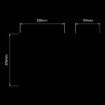 Схема с размерами Astro 1340001
