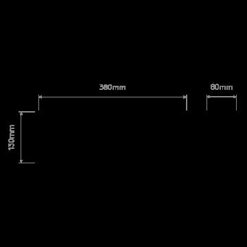 Схема с размерами Astro 1079004