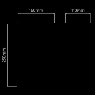 Схема с размерами Astro 1095011
