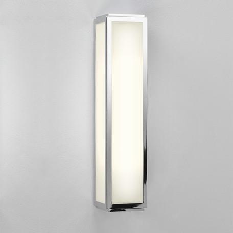 Настенный светодиодный светильник Astro Mashiko 1121018 (7099), IP44, LED 7,94W 3000K 394.4lm CRI80, хром, пластик