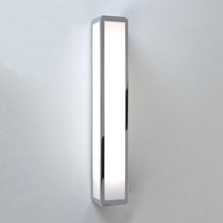 Настенный светодиодный светильник Astro Mashiko 1121020 (7134), IP44, LED 10,6W 3000K 657.8lm CRI80, хром, пластик