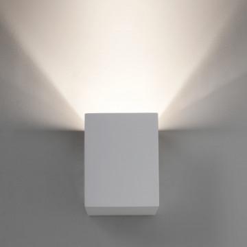 Настенный светодиодный светильник Astro Parma 1187004 (7019), LED 3,98W 3000K 104.3lm CRI80, белый, под покраску, гипс - миниатюра 3