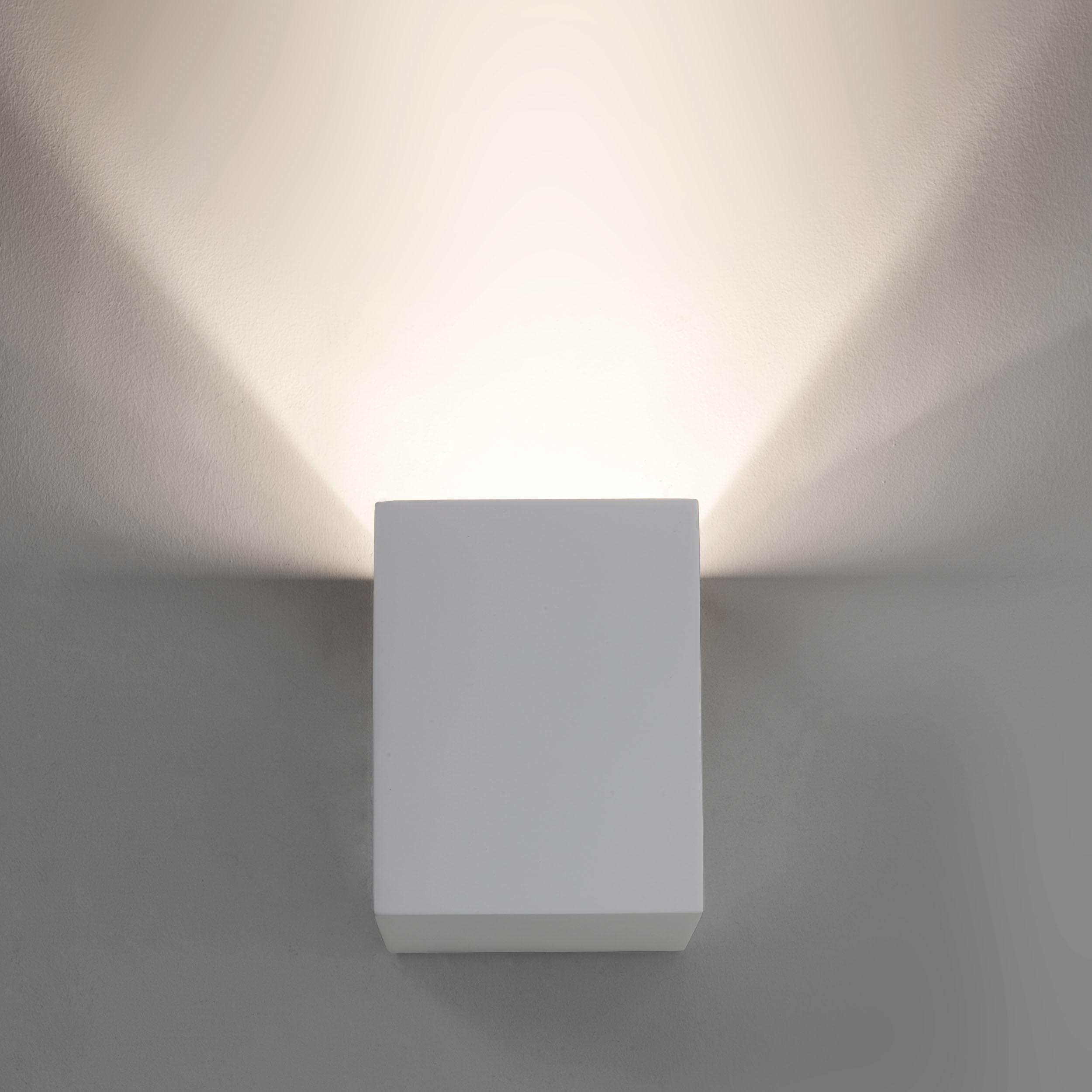 Настенный светодиодный светильник Astro Parma 1187004 (7019), LED 3,98W 3000K 104.3lm CRI80, белый, под покраску, гипс - фото 3