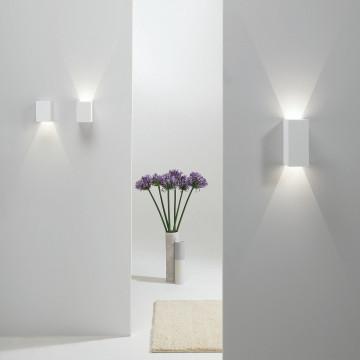 Настенный светодиодный светильник Astro Parma 1187004 (7019), LED 3,98W 3000K 104.3lm CRI80, белый, под покраску, гипс - миниатюра 4