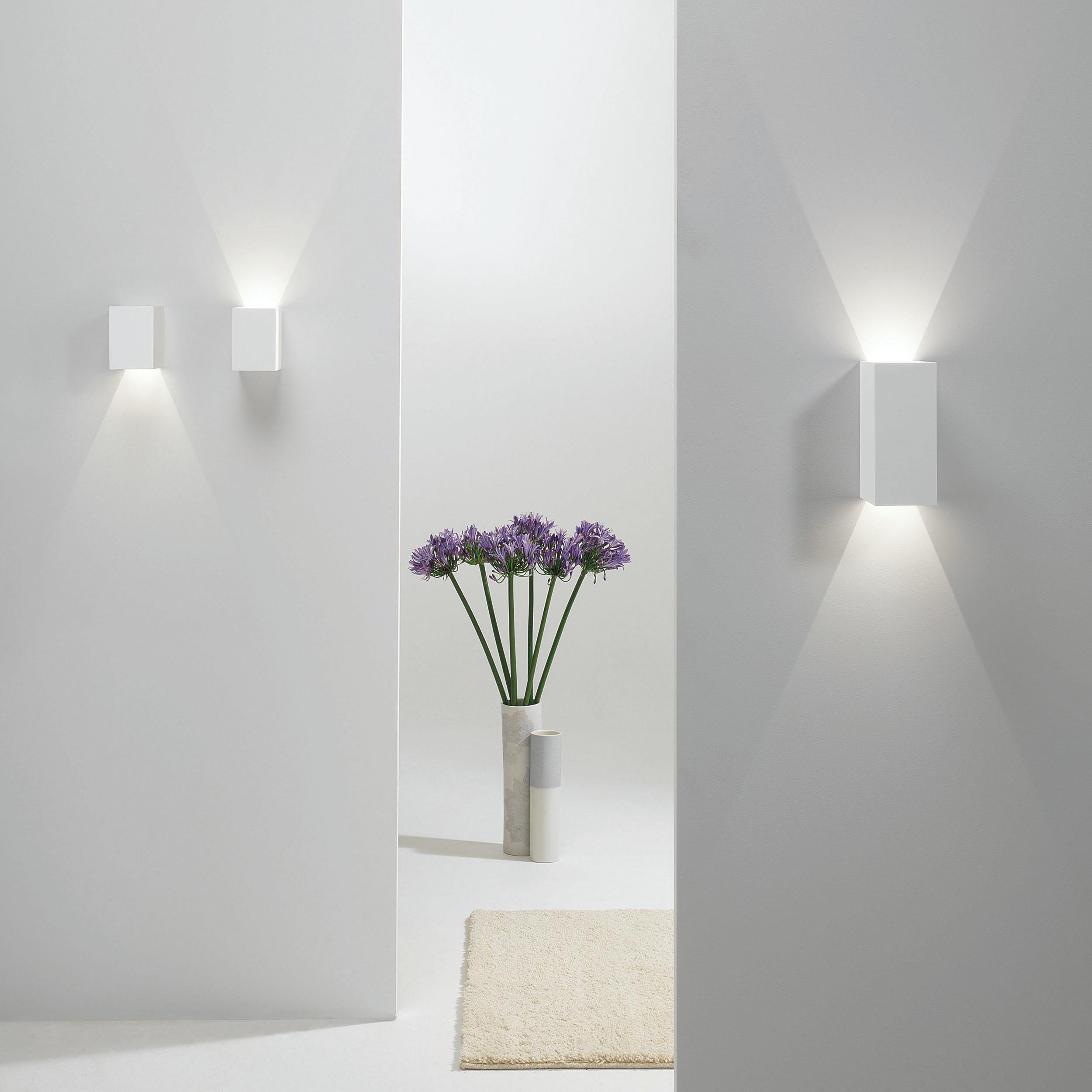 Настенный светодиодный светильник Astro Parma 1187004 (7019), LED 3,98W 3000K 104.3lm CRI80, белый, под покраску, гипс - фото 4