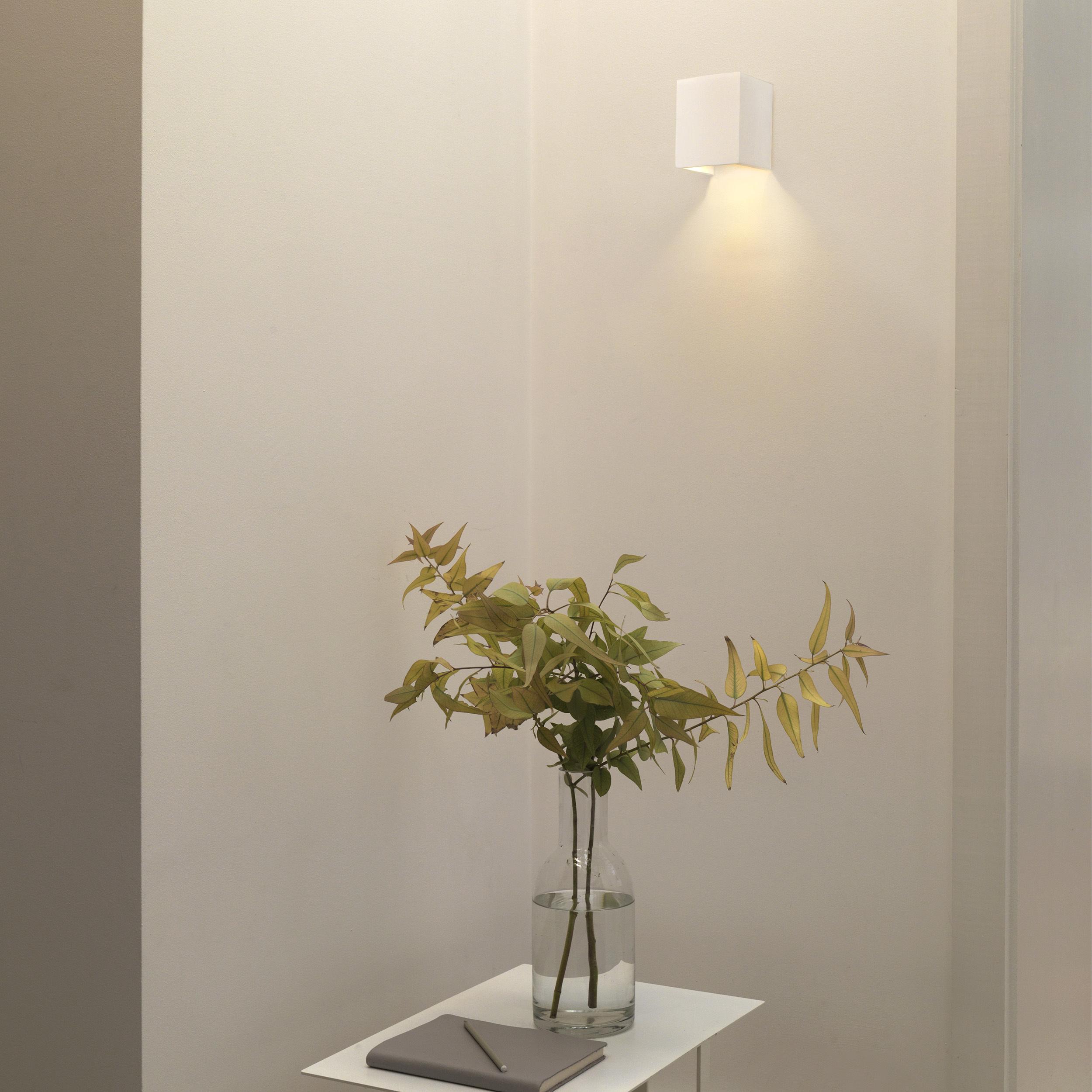 Настенный светодиодный светильник Astro Parma 1187004 (7019), LED 3,98W 3000K 104.3lm CRI80, белый, под покраску, гипс - фото 5