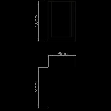 Схема с размерами Astro 1187004