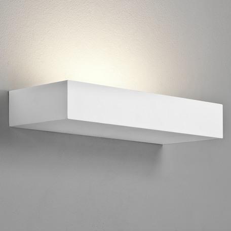 Настенный светильник Astro Parma 1187005 (7038), 1xE14x60W, белый, под покраску, гипс