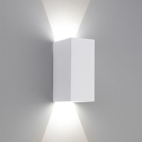 Настенный светодиодный светильник Astro Parma 1187010, LED 6,97W, 3000K (теплый), белый, под покраску