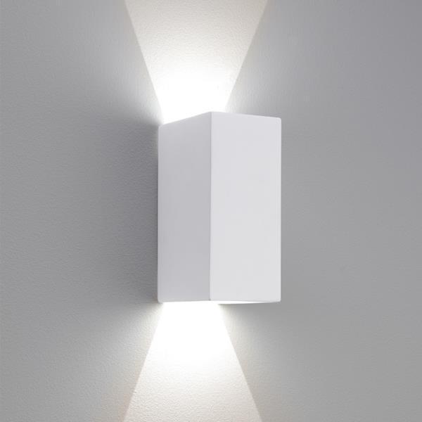Настенный светодиодный светильник Astro Parma 1187010, LED 6,97W, 3000K (теплый), белый, под покраску - фото 1
