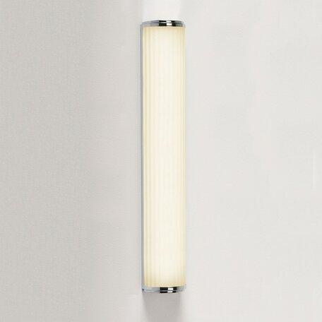 Настенный светильник Astro Monza 1194010 (7017), IP44, 1xG5T5x24W, хром, белый, металл, пластик