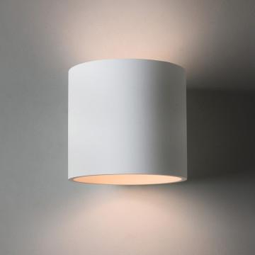 Настенный светильник Astro Brenta 1195003 (7261), 1xE27x60W, белый, под покраску, металл, гипс - миниатюра 2