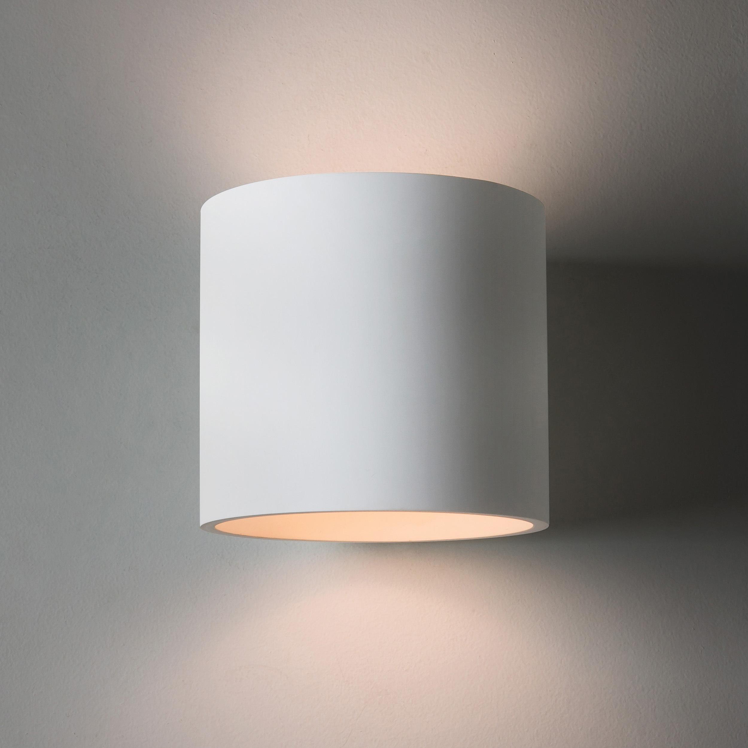 Настенный светильник Astro Brenta 1195003 (7261), 1xE27x60W, белый, под покраску, металл, гипс - фото 2