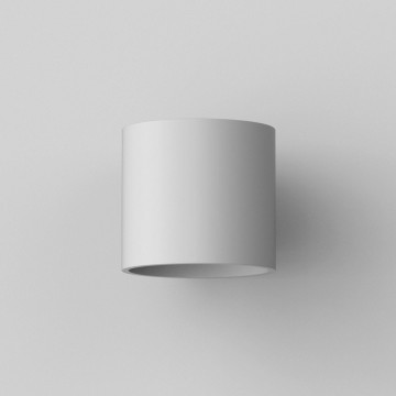 Настенный светильник Astro Brenta 1195003 (7261), 1xE27x60W, белый, под покраску, металл, гипс - миниатюра 4