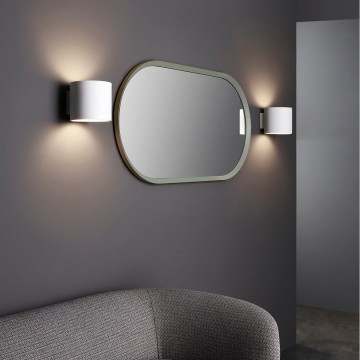 Настенный светильник Astro Brenta 1195003 (7261), 1xE27x60W, белый, под покраску, металл, гипс - миниатюра 7