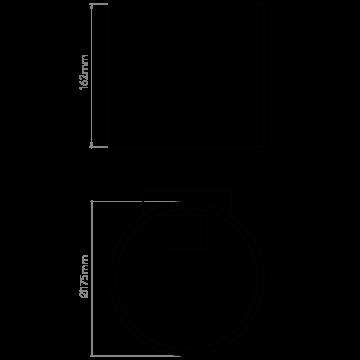 Схема с размерами Astro 1195003