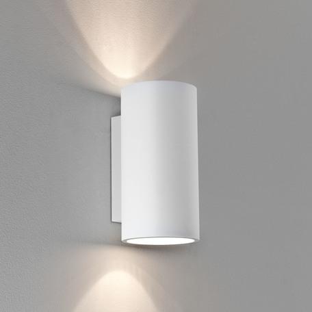 Настенный светильник Astro Bologna 1287002, 2xGU10x50W, белый, под покраску, гипс - миниатюра 1