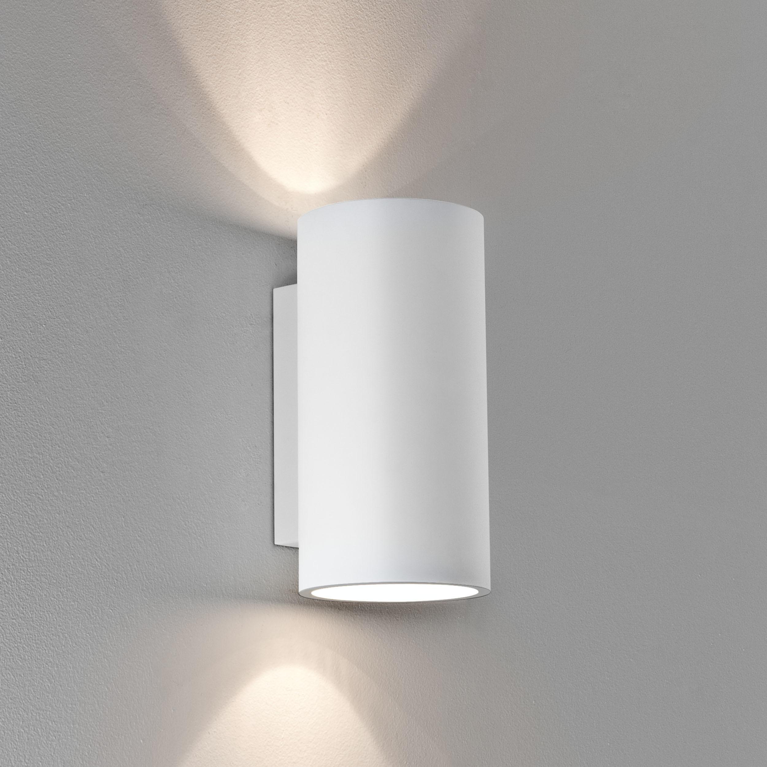 Настенный светильник Astro Bologna 1287002, 2xGU10x50W, белый, под покраску, гипс - фото 1