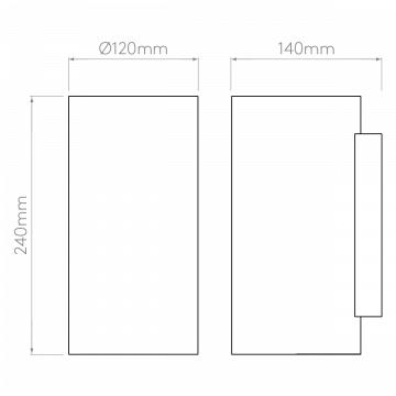 Схема с размерами Astro 1287002