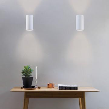 Настенный светильник Astro Bologna 1287002, 2xGU10x50W, белый, под покраску, гипс - миниатюра 8