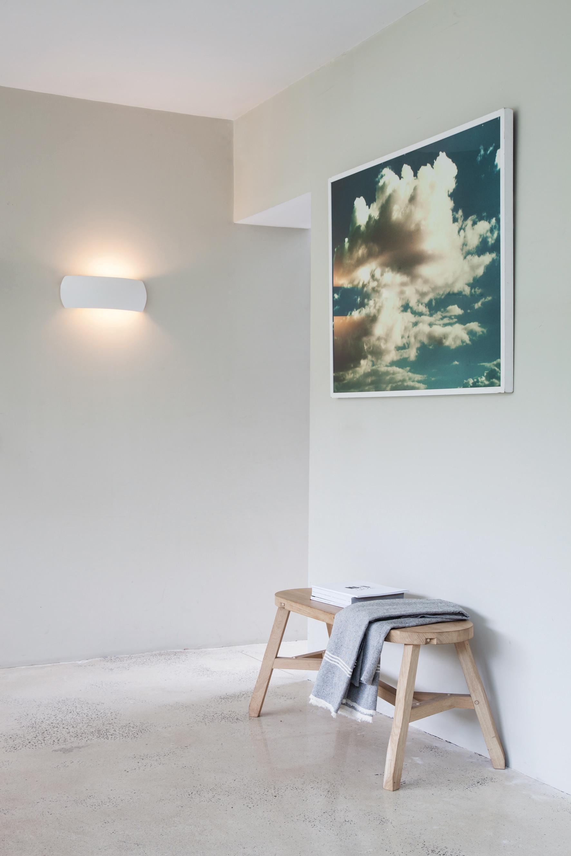 Настенный светильник Astro Milo 1299001 (7073), 1xE27x60W, белый, под покраску, керамика - фото 3