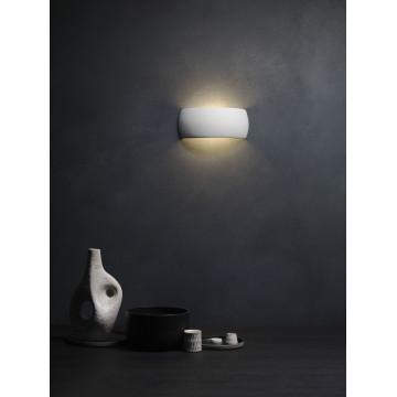 Настенный светильник Astro Milo 1299001 (7073), 1xE27x60W, белый, под покраску, керамика - миниатюра 4