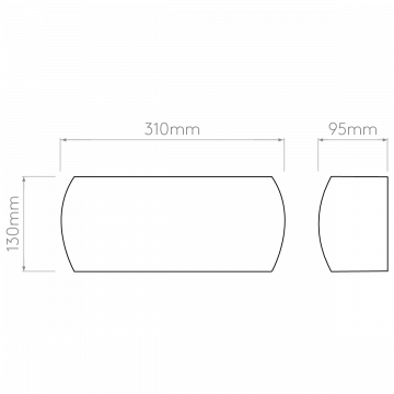 Схема с размерами Astro 1299001