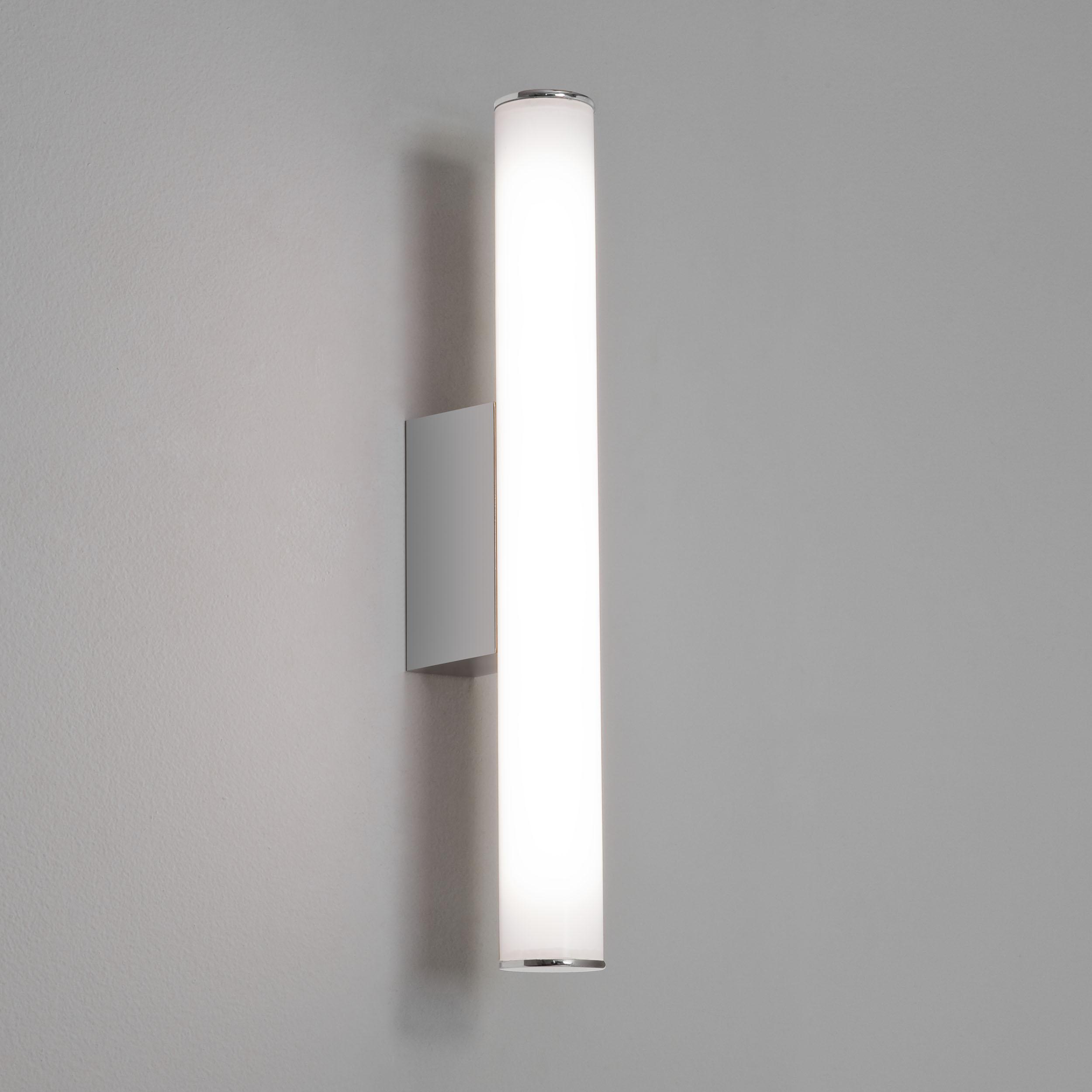 Настенный светодиодный светильник Astro Dio 1305001 (7101), IP44, LED 4,53W, 3000K (теплый), хром, белый, металл, пластик - фото 2