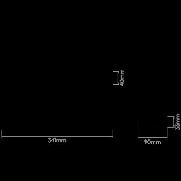 Схема с размерами Astro 1305001