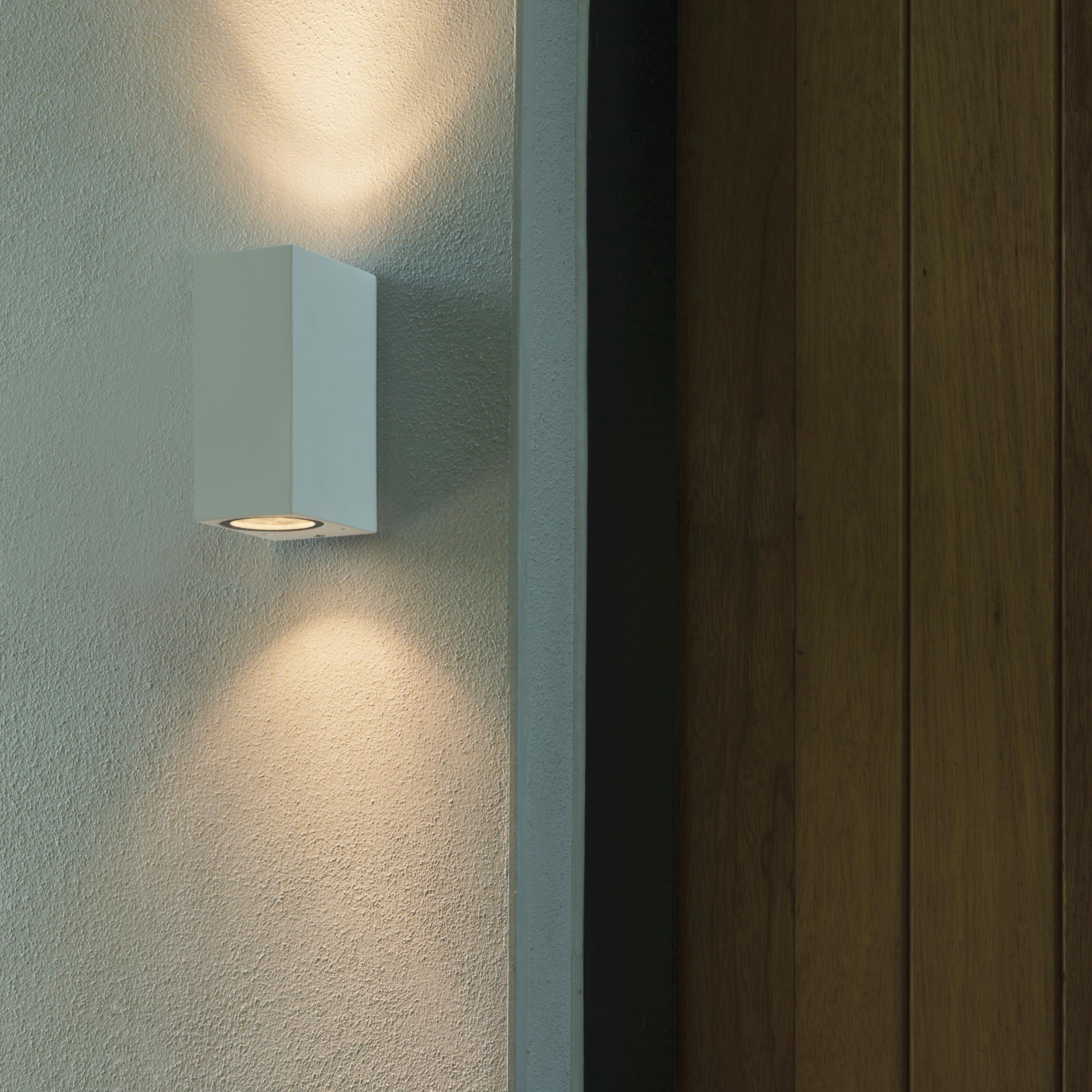 Настенный светильник Astro Chios 1310004 (7128), IP44, 2xGU10x6W, прозрачный, черный, металл, стекло - фото 3
