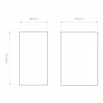 Схема с размерами Astro 1310004