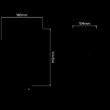 Схема с размерами Astro 1314001