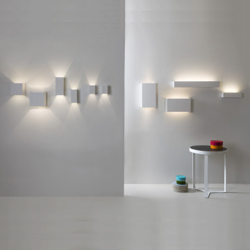 Настенный светильник Astro Pella 1315002 (7141), 2xGU10x50W, белый, под покраску, гипс - миниатюра 4