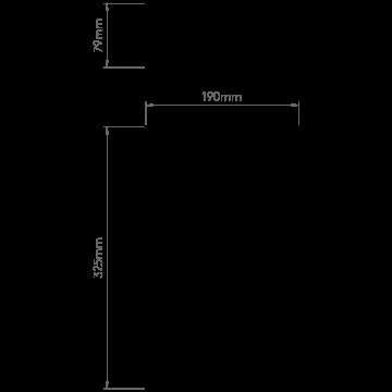 Схема с размерами Astro 1315002