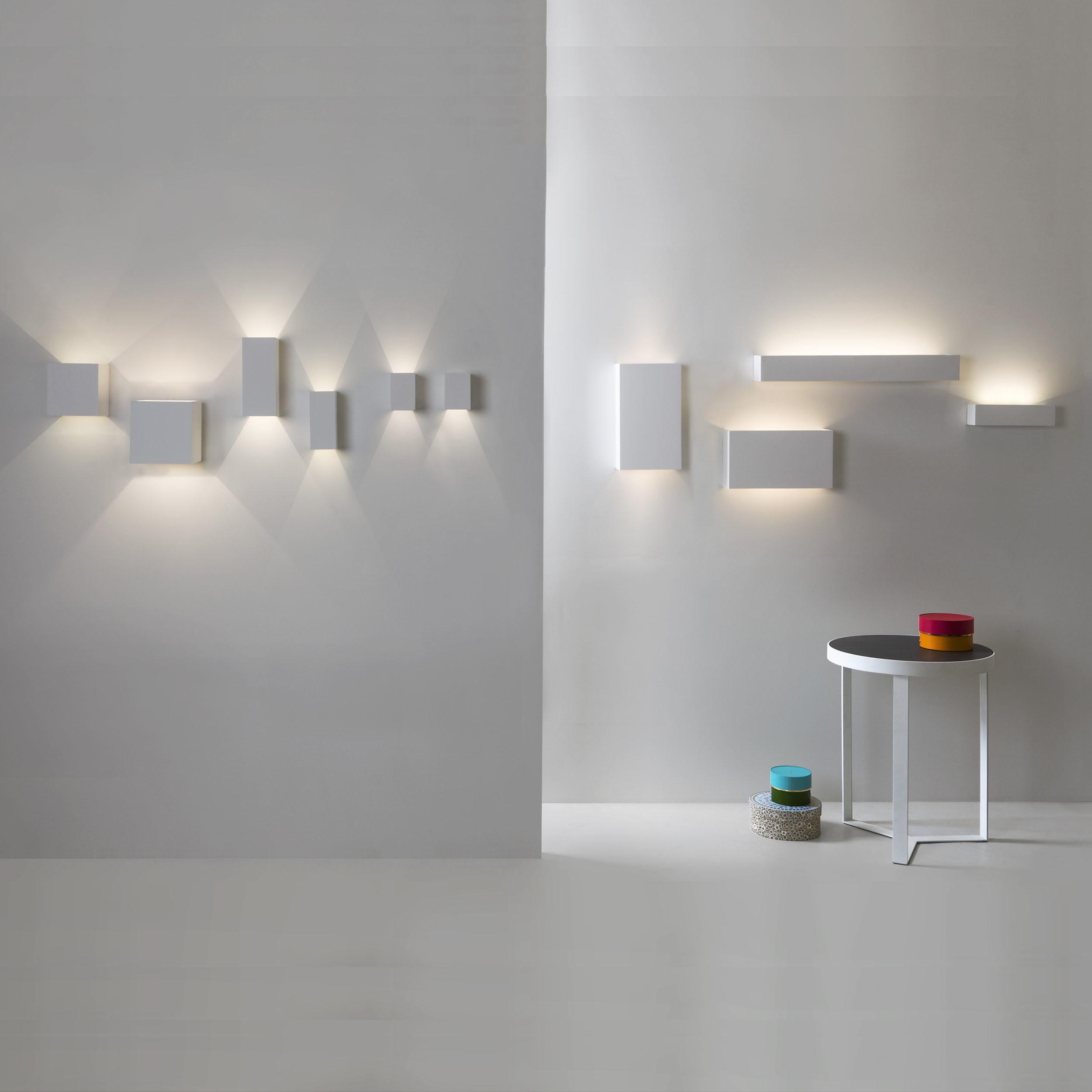 Настенный светодиодный светильник Astro Rio 1325002 (7173), LED 14,6W 3000K 1228lm CRI80, белый, под покраску, гипс - фото 2