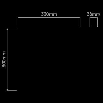 Схема с размерами Astro 1333001