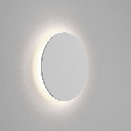 Настенный светодиодный светильник Astro Eclipse 1333003 (7454), LED 12,3W 3000K 432lm CRI60, белый, под покраску, гипс