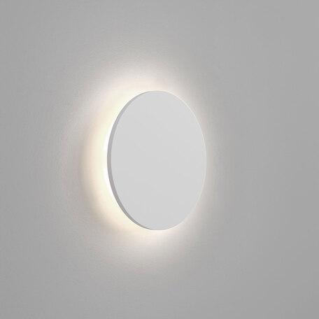 Настенный светодиодный светильник Astro Eclipse 1333002 (7249), LED 10,44W 3000K 452.4lm CRI60, белый, под покраску, гипс
