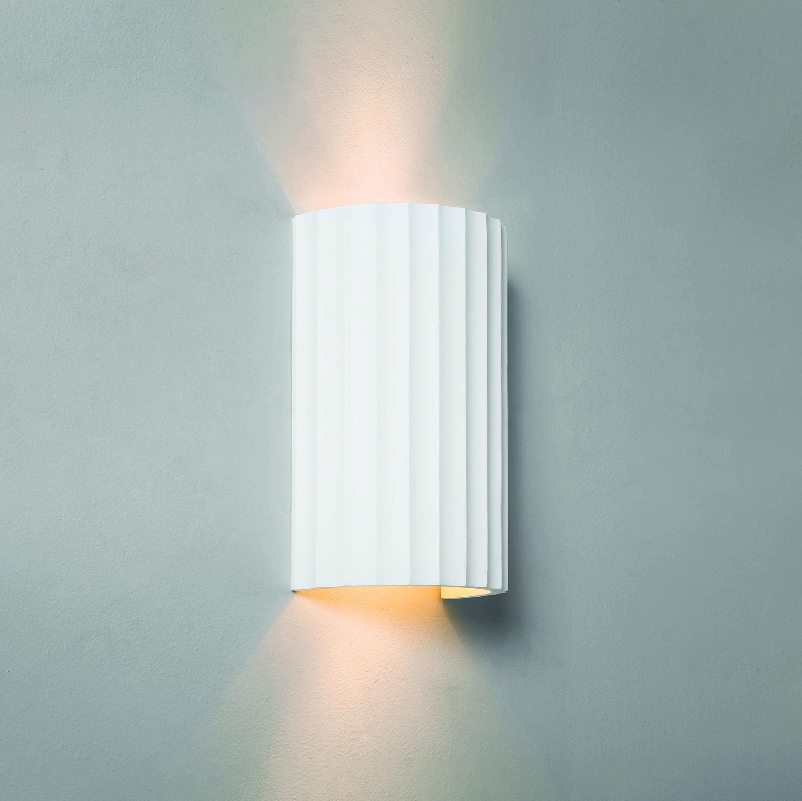 Настенный светильник Astro Kymi 1335001 (7256), 2xGU10x50W, белый, под покраску, гипс - фото 1