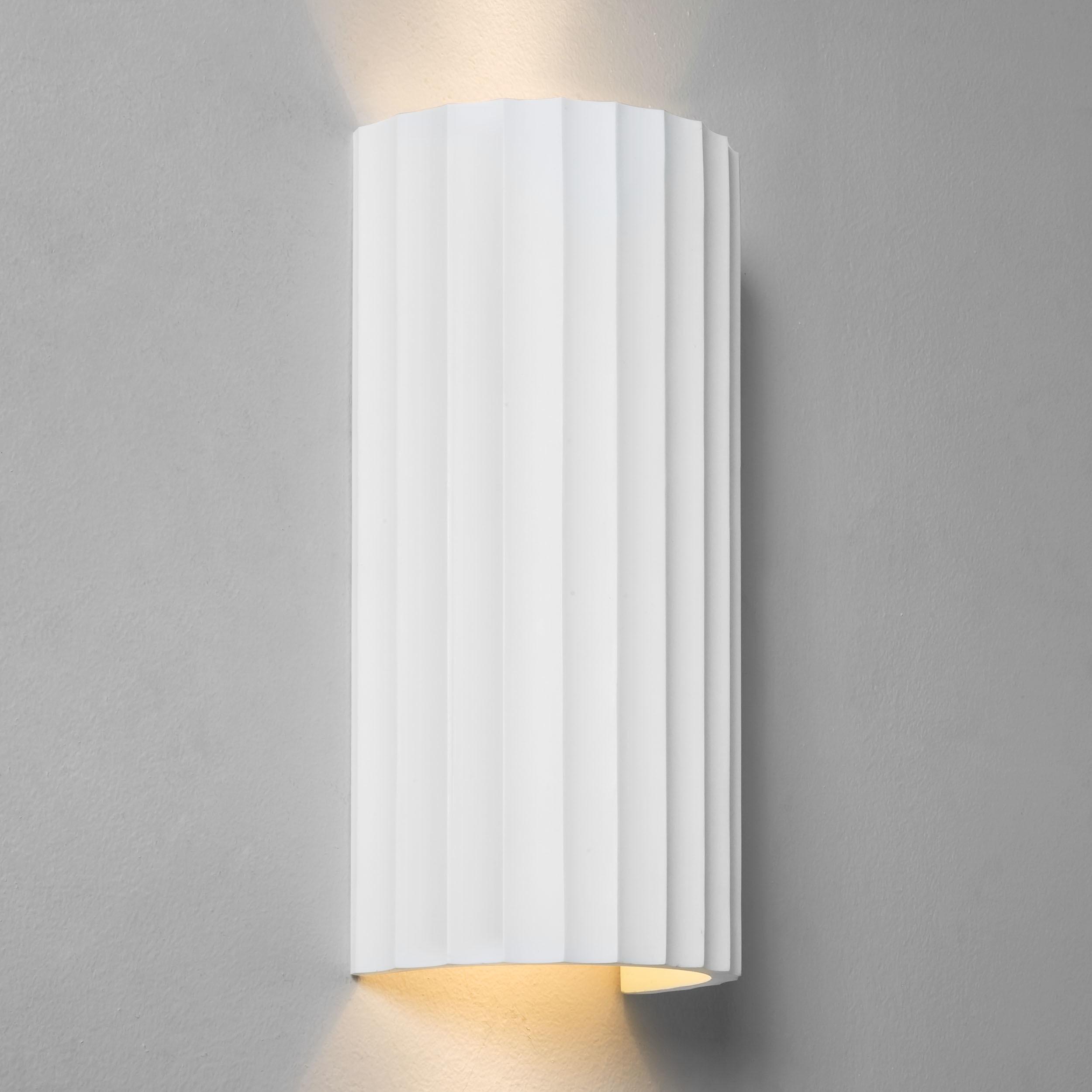 Настенный светильник Astro Kymi 1335003 (7258), 2xGU10x50W, белый, под покраску, гипс - фото 1