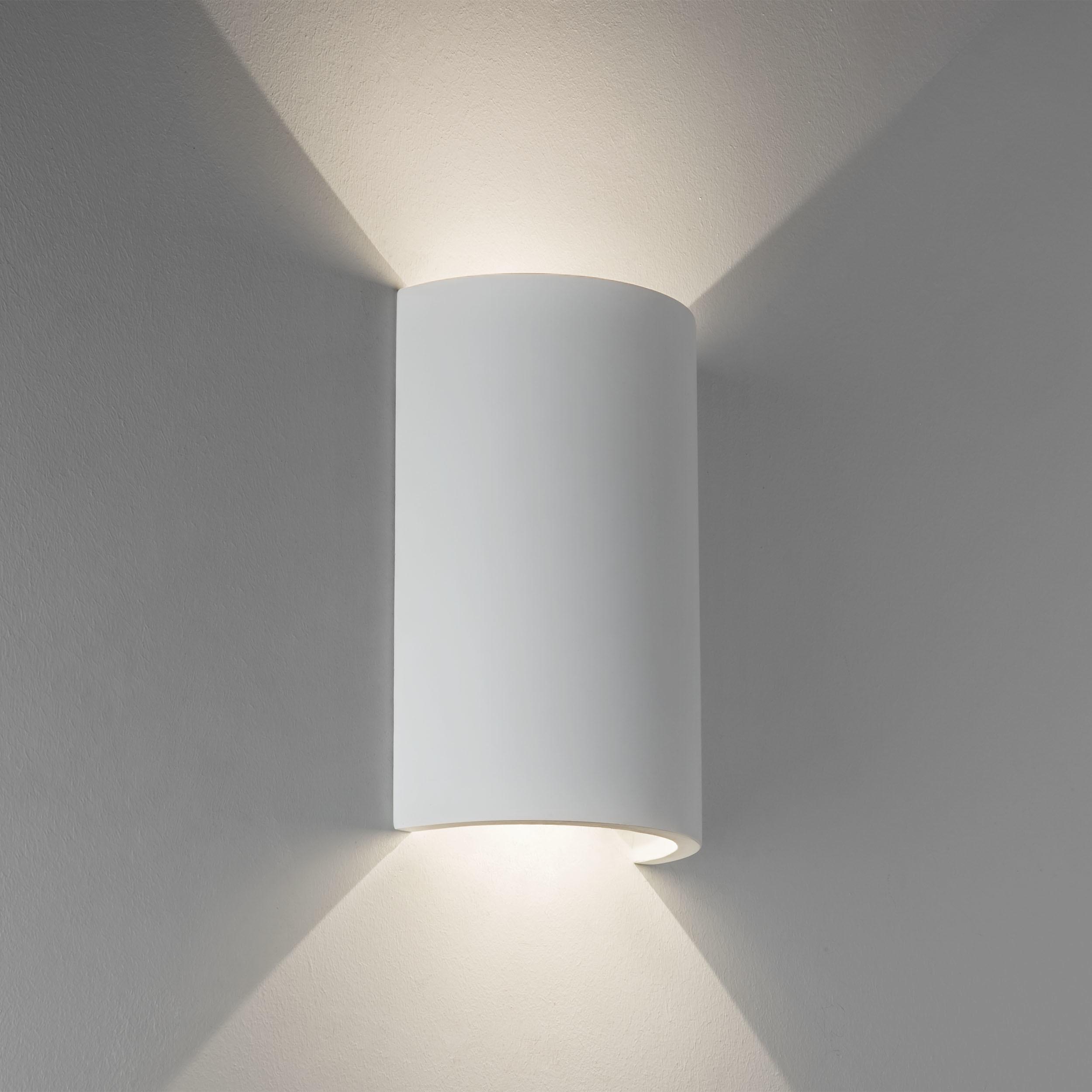 Настенный светодиодный светильник Astro Serifos 1350001 (7375), LED 6,32W 3000K 286.5lm CRI80, белый, под покраску, гипс - фото 1