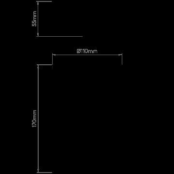 Схема с размерами Astro 1350001