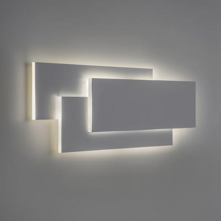 Настенный светодиодный светильник Astro Edge 1352001 (7385), LED 15,5W 3000K 479lm CRI80, белый, металл