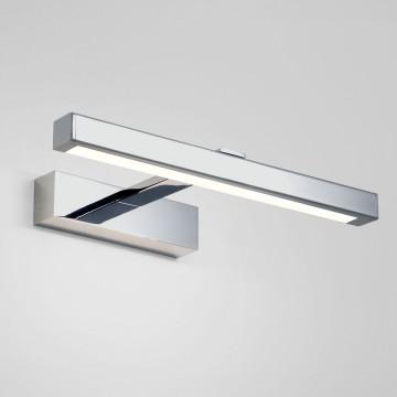 Настенный светодиодный светильник для подсветки картин и зеркал Astro Kashima LED 1174003 (7348), IP44 3000K (теплый), хром, белый, металл, пластик